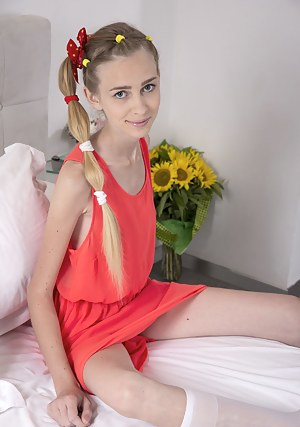 Teen Pigtails Porn Pictures